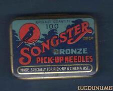 Boite Aiguillles Gramphone Phonographe – Songster Needles 20 Aiguilles (Bleu)