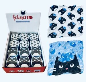 Cat Feline Pet Magic Expanding Face Cloth Flannel Travel birthday Holiday Kids