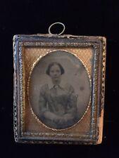 Victorian Ambrotype/Dagguerreotype Of A Women (1)
