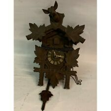 More details for antique  cuckoo clock gwo  no weights