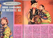 MA100-Clipping-Ritaglio 1979 Minnie Minoprio