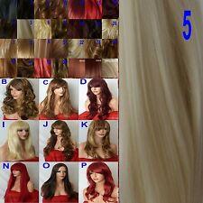 Long Wig Natural Curly Straight Wavy Synthetic Fashion Natural Ladies Hair Wig