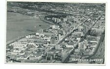 SOUTH AFRICA - DURBAN, PANORAMA 1955 Kimble aerial view Postcard *