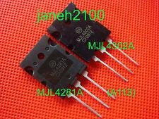 10 pair MJL4281A & MJL4302A Amplifier transistor new FREE SHIPPING (A113)