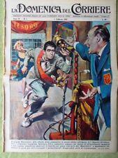 La Domenica del Corriere 1 Febbraio 1959 Musichiere Festival Sanremo M. Hawthorn