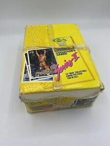 1990 Classic WWF Series II History of WrestleMania Card Box 36 Packs PSA INVEST
