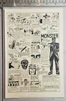 Vintage Universal Monsters RARE Print Advertisement