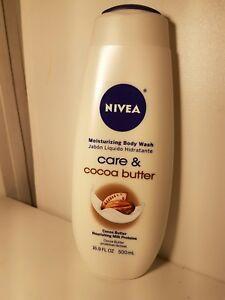 Nivea Moisturizing body wash care & cocoa butter 16.9oz