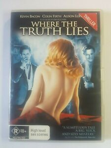Where The Truth Lies DVD Sexy Thriller_Alison Lohman,Kevin Bacon, Colin Firth