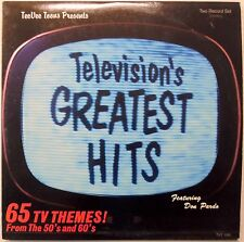 TELEVISION'S GREATEST HITS 50's & 60's Lot of 2 #6544