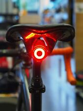 rear USB rechargeable red light - moon lights bright lamp aluminium 6 modes tail