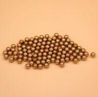 6mm 100PCS Solid Brass Bearing Balls (H62)