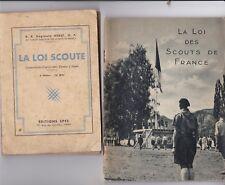 scouts : 3 revues (loi scoute, loi du chef)