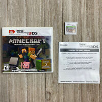 Minecraft New Nintendo 3DS Edition - CIB Complete [TESTED]*