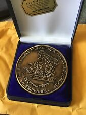 Medaille Bronze Philatélie Valenciennes 1998