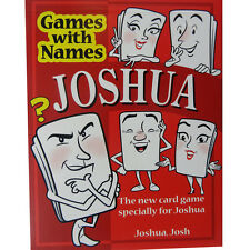 JOSHUA'S GAME: Boys or mens stocking filler gift specially for Joshua or Josh !!