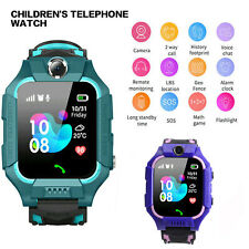 Waterproof Kids Smart Watch Anti-lost Safe GPS Tracker SOS Call For Android
