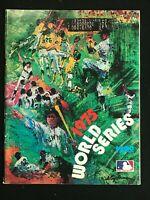 WORLD SERIES Souvenir Magazine 1975  Boston Red Sox / Oakland As / Red / Pirates