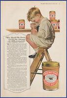 Vintage 1917 BEECH-NUT Peanut Butter Kitchen Art Decor Ephemera Print Ad 1910's