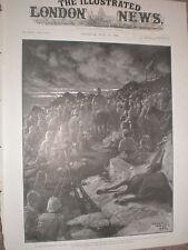 Generale Ian Hamilton grazie i GORDON HIGHLANDERS dopo doornskop 1900 Print