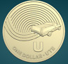 THE GREAT AUSSIE COIN HUNT | 2019 | UNC ONE DOLLAR COIN | 'U' FOR UTE