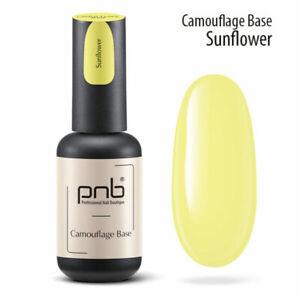 NEW 2021! Camouflage Base PNB NEON Color Rubber Base 8 ml Gel Nail Polish LED UV