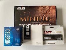 Crypto Mining Bundle - ASUS Motherboard, Intel Processor, 8GB RAM, 120GB SSD