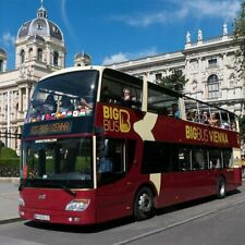 Hop-on Hop-off Sightseeing Big Bus Vienna 24 Stunden Classic Ticket Wien 2020