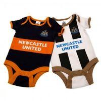 Newcastle United F.c. 2 Pack Bodysuit 12/18 Mths Gd