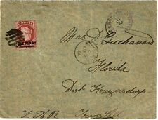 St. Helena 1901 Boer War POW cover to Transvaal, censored