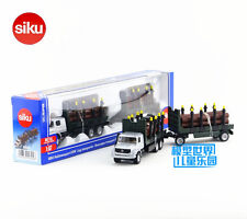 Siku 1804/Diecast Toy Car Model/1:87 Mercedes-Benz Timber Truck/Collection/Gift