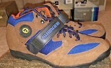 Shimano Brown Men's Multisport MTB Shoes - SPD - Size EU 41 / US 8 - SH-M055