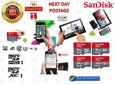 Genuine 16Gb 32GB 64GB 128GB SanDisk Ultra Class 10 Micro SDHC SDXC Card 100MB/s