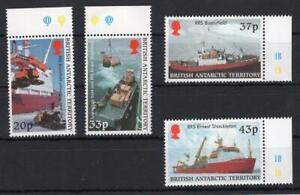 Britische Gebiete in der Antarktis 2000 Satz Versorgungsschiffe **