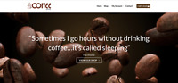 COFFEE Website Business For Sale - Earn £599.00 A SALE. Free Domain| Web Hosting