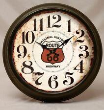 Orologio Vintage Rroute 66 rotondo da parete