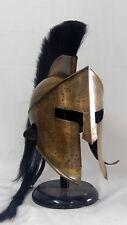 Spartan King Leonidas 300 Movie Crusader Roman Helmet Medieval Halloween Gifts