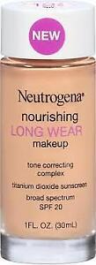 Neutrogena Nourishing Long Wear Makeup,  Buff 30, 1oz SPF 20 (2/PK)