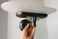 FLOS Arteluce Italy JILL LAMP SCONCE gunmetal grey frosted diffuser XLNT no rsrv