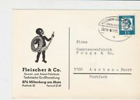 german  bahnpost railway stamps cover  ref 18785