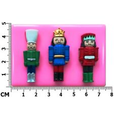 Christmas Vintage Nutcracker Cupcake Silicone Mould by Fairie Blessings