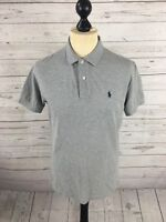 RALPH LAUREN Polo Shirt - Size Small - Grey - Great Condition