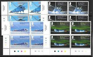 BRITISH ANTARCTIC TERR. SG630/3 2013 HALLEY RESEARCH STATION  IN BLOCKS OF 4 MNH