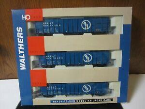 3 pack Walthers 61' Wood Chip Car Great Northern NIB 932-34051 HO Scale NIB