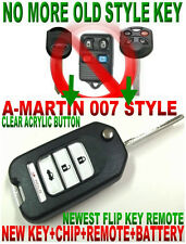 NEW FLIP KEY REMOTE FOR FORD EXPLORER 80BIT IMMOBILIZER CHIP FOB KEYLESS ENTRY