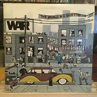 [SOUL/FUNK]~EXC LP~WAR~The World Is A Ghetto~{Original 1972~UNITED ARTISTS~Issue
