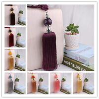 1 Paar 10 Farben Quasten Seil Vorhänge Raffhalter Vorhang Holdback Dekoration