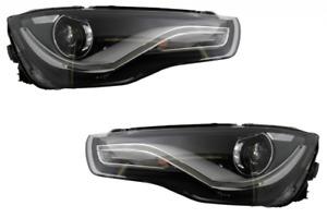 For Audi A1 8X LED Headlights Lights Xenon Look Rear Lights