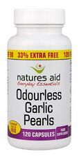 Natures Aid Garlic Pearls (Odourless) One-a-day 120 Caps