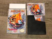 Archon Nintendo Nes Complete CIB Excellent Condition Authentic